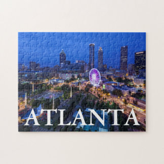 Georgia, Atlanta, Centennial Olympic Park Jigsaw Puzzle