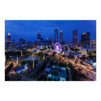 Georgia, Atlanta, Centennial Olympic Park Poster