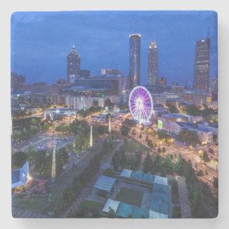 Georgia, Atlanta, Centennial Olympic Park Stone Beverage Coaster