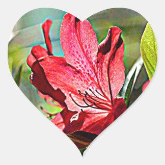 Georgia Azalea Heart Sticker