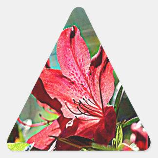 Georgia Azalea Triangle Sticker