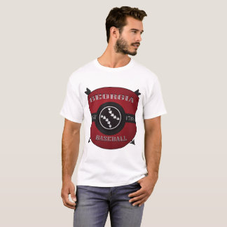 Georgia Baseball Shield Logo T-Shirt