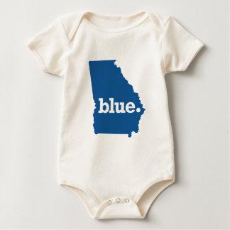 GEORGIA BLUE STATE BABY BODYSUIT