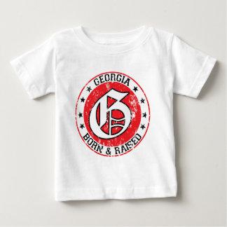 Georgia born raised light.png t-shirt