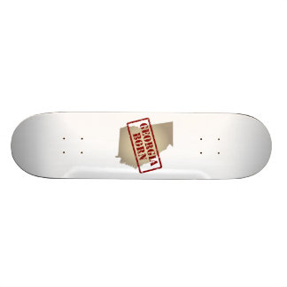 Georgia Born - Stamp on Map Skateboard Decks