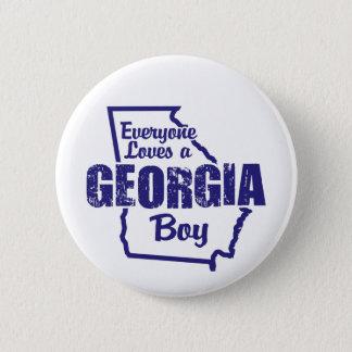 Georgia Boy 6 Cm Round Badge