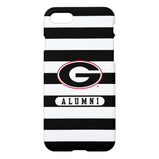 Georgia Bulldogs Alumni | Stripes iPhone 8/7 Case