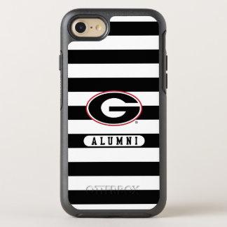 Georgia Bulldogs Alumni | Stripes OtterBox Symmetry iPhone 8/7 Case