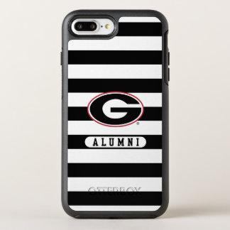 Georgia Bulldogs Alumni | Stripes OtterBox Symmetry iPhone 8 Plus/7 Plus Case