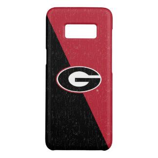 Georgia Bulldogs Logo | Distressed Case-Mate Samsung Galaxy S8 Case