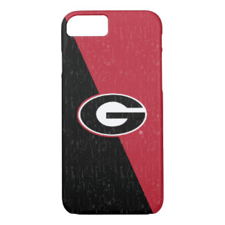 Georgia Bulldogs Logo | Distressed iPhone 8/7 Case