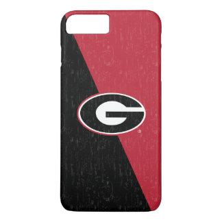 Georgia Bulldogs Logo | Distressed iPhone 8 Plus/7 Plus Case