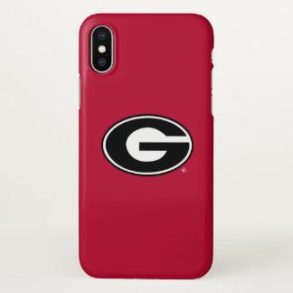 Georgia Bulldogs Logo iPhone X Case