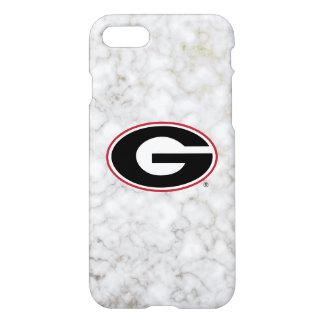 Georgia Bulldogs Logo | Marble iPhone 8/7 Case