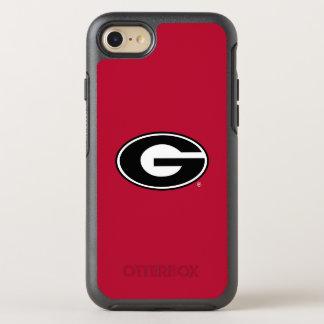 Georgia Bulldogs Logo OtterBox Symmetry iPhone 8/7 Case