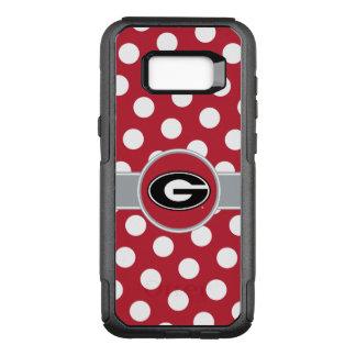 Georgia Bulldogs Logo | Polka Dots OtterBox Commuter Samsung Galaxy S8+ Case