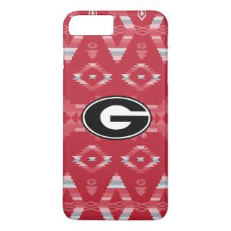 Georgia Bulldogs Logo | Tribal Pattern iPhone 8 Plus/7 Plus Case