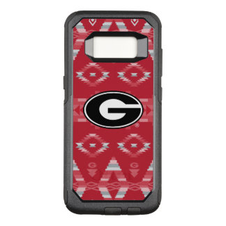Georgia Bulldogs Logo | Tribal Pattern OtterBox Commuter Samsung Galaxy S8 Case