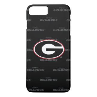 Georgia Bulldogs Logo | Watermark Pattern iPhone 8 Plus/7 Plus Case