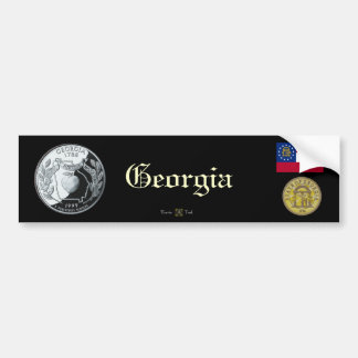 GEORGIA BUMPER STICKER