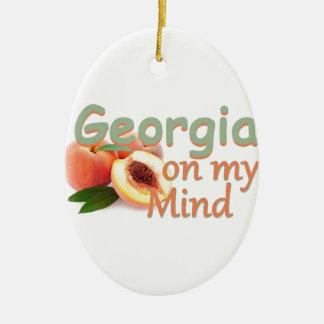 GEORGIA CHRISTMAS ORNAMENT