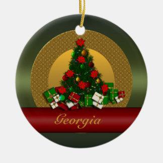 Georgia Christmas Tree Ornament