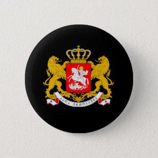 Georgia Coat of Arms 6 Cm Round Badge