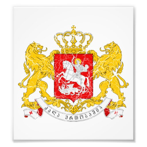 Georgia Coat Of Arms Photo Art