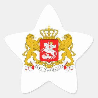 Georgia Coat of Arms Stickers