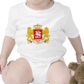 Georgia Coat Of Arms Baby Bodysuit