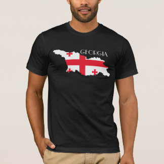 Georgia (Country) Flag-Map T-Shirt