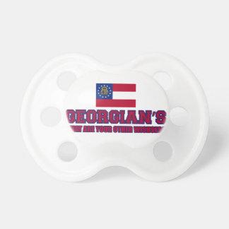 georgia design pacifiers
