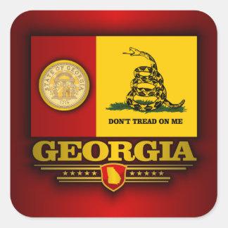 Georgia (DTOM) Square Sticker