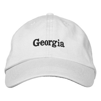 Georgia Embroidered Hat
