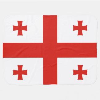 Georgia Flag Buggy Blanket