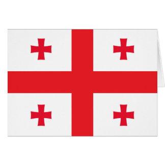 Georgia Flag Card