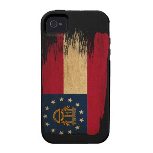 Georgia Flag Vibe iPhone 4 Case