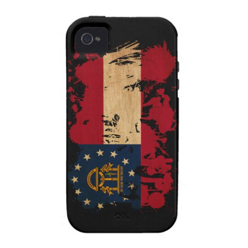 Georgia Flag Case-Mate iPhone 4 Covers