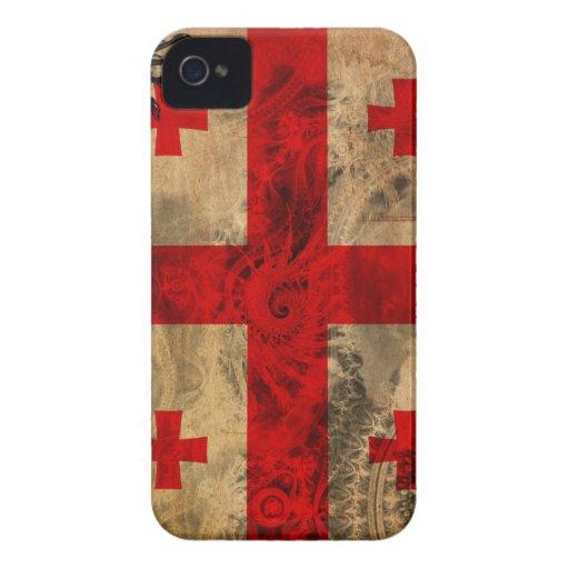 Georgia Flag Case-Mate Blackberry Case