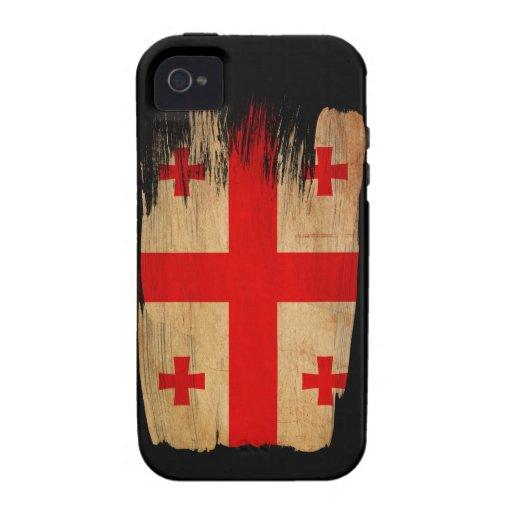 Georgia Flag Case-Mate iPhone 4 Cases