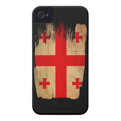 Georgia Flag iPhone 4 Cases