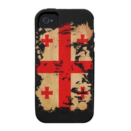 Georgia Flag iPhone 4/4S Case