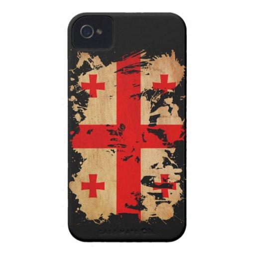 Georgia Flag Blackberry Cases
