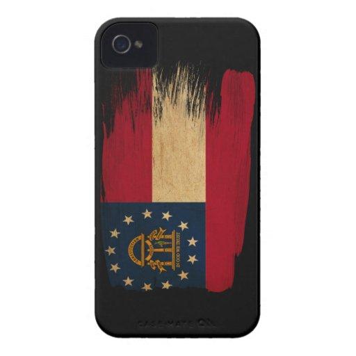 Georgia Flag iPhone 4 Case-Mate Case