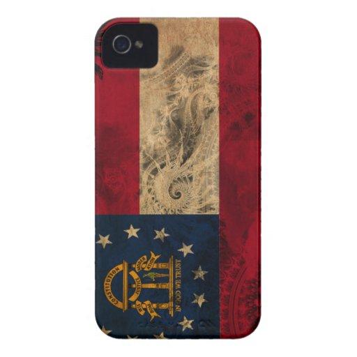 Georgia Flag iPhone 4 Covers
