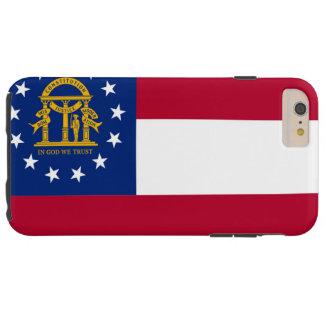 Georgia flag tough iPhone 6 plus case