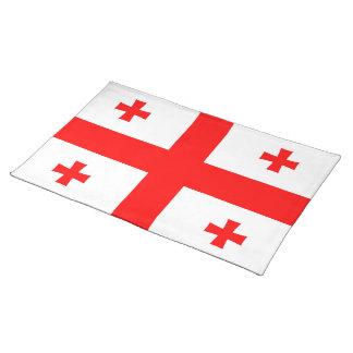 Georgia Flag Place Mats