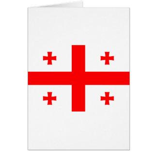 Georgia Flag GE Greeting Card