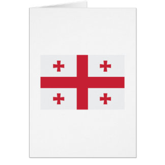 Georgia Flag Greeting Card