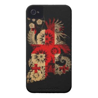 Georgia Flag iPhone 4 Case-Mate Cases